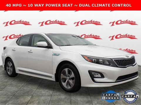 Certified Pre-Owned 2015 Kia Optima Hybrid Base